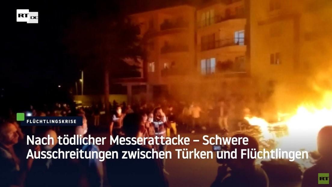Nach tödlicher Messerattacke – Schwere Ausschreitungen zwischen Türken und syrischen Flüchtlingen