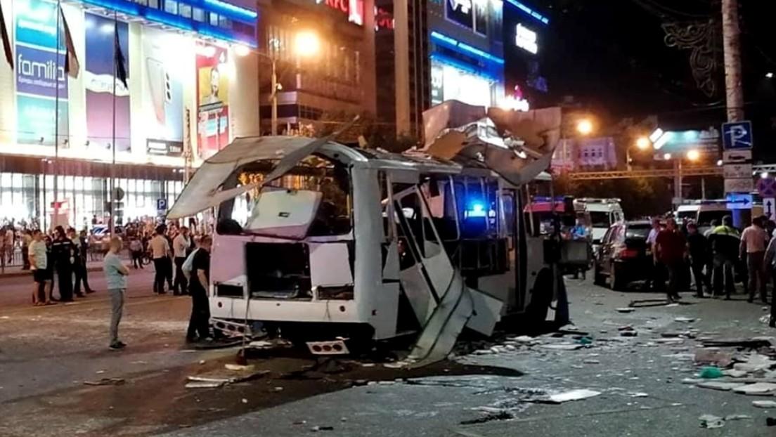 Russland: Passagierbus in Woronesch explodiert – Zwei Tote, zahlreiche Verletzte