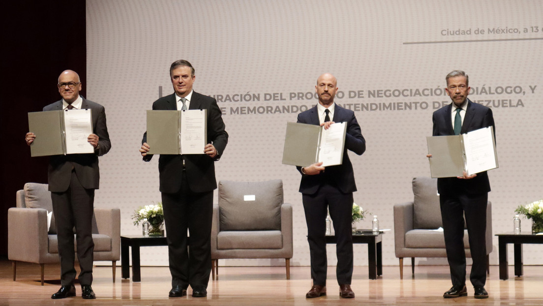 Auftakt zu Gesprächen zwischen venezolanischer Regierung und Opposition in Mexiko