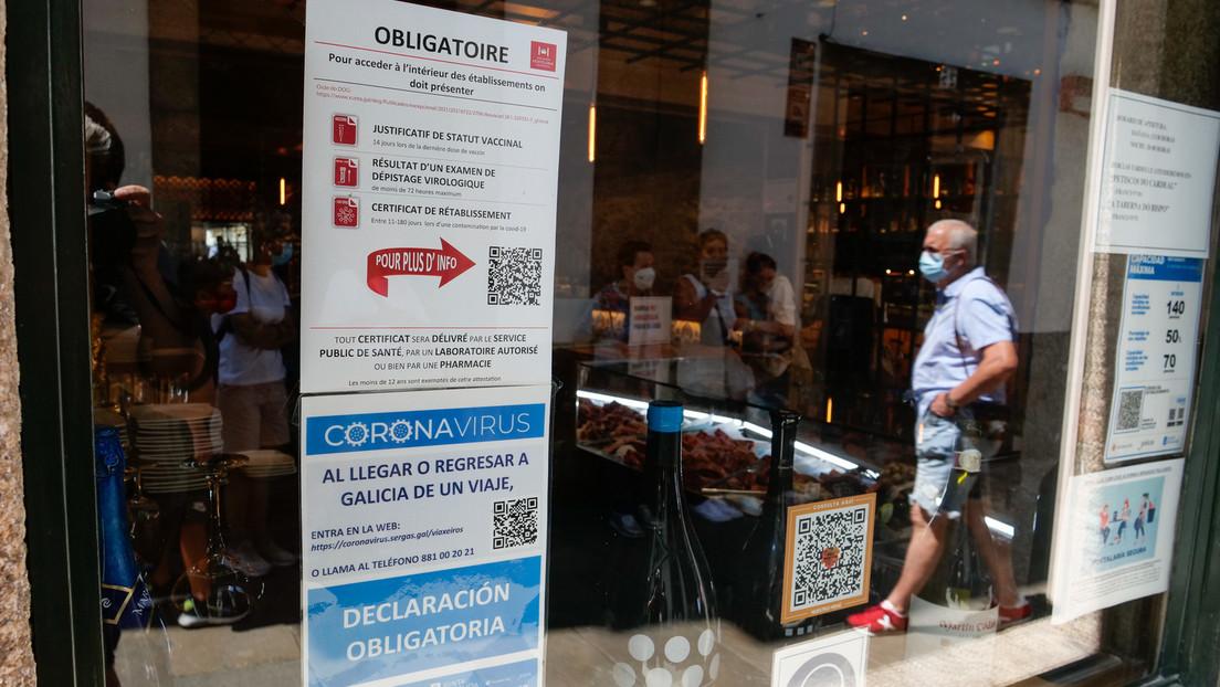 """Galicien: Oberstes Gericht stoppt """"Grünen Pass"""" für Restaurantbesuche"""