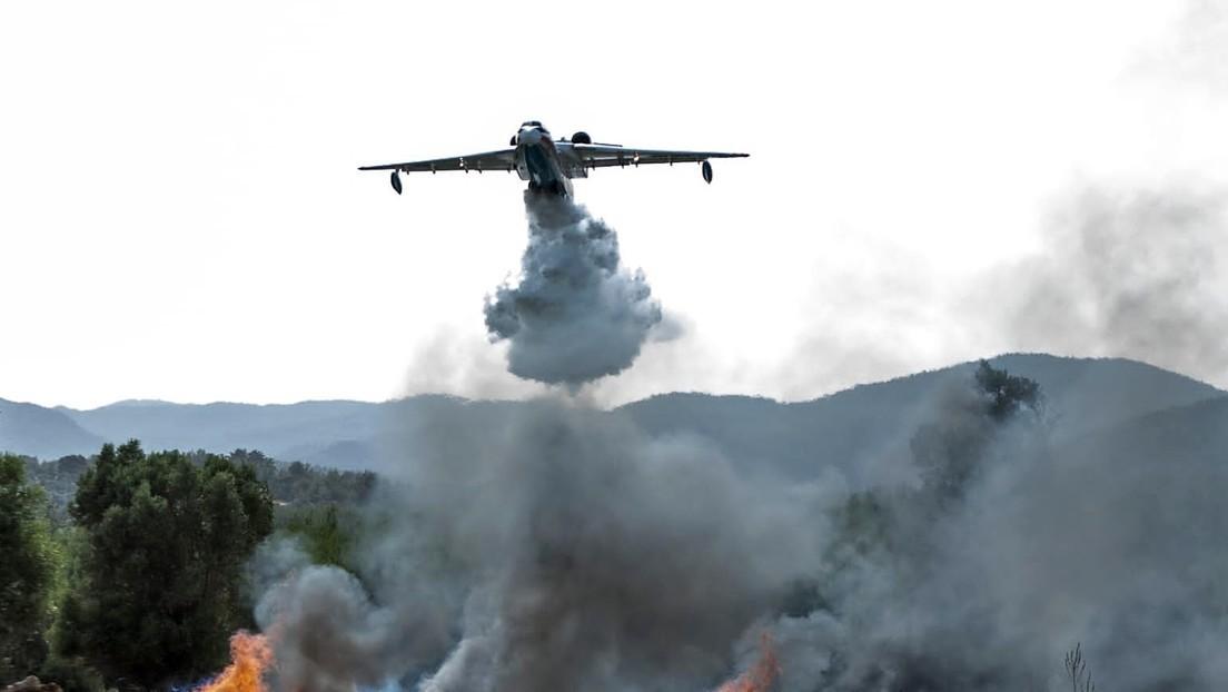 Russisches Löschflugzeug in der Türkei abgestürzt: Alle acht Insassen tot