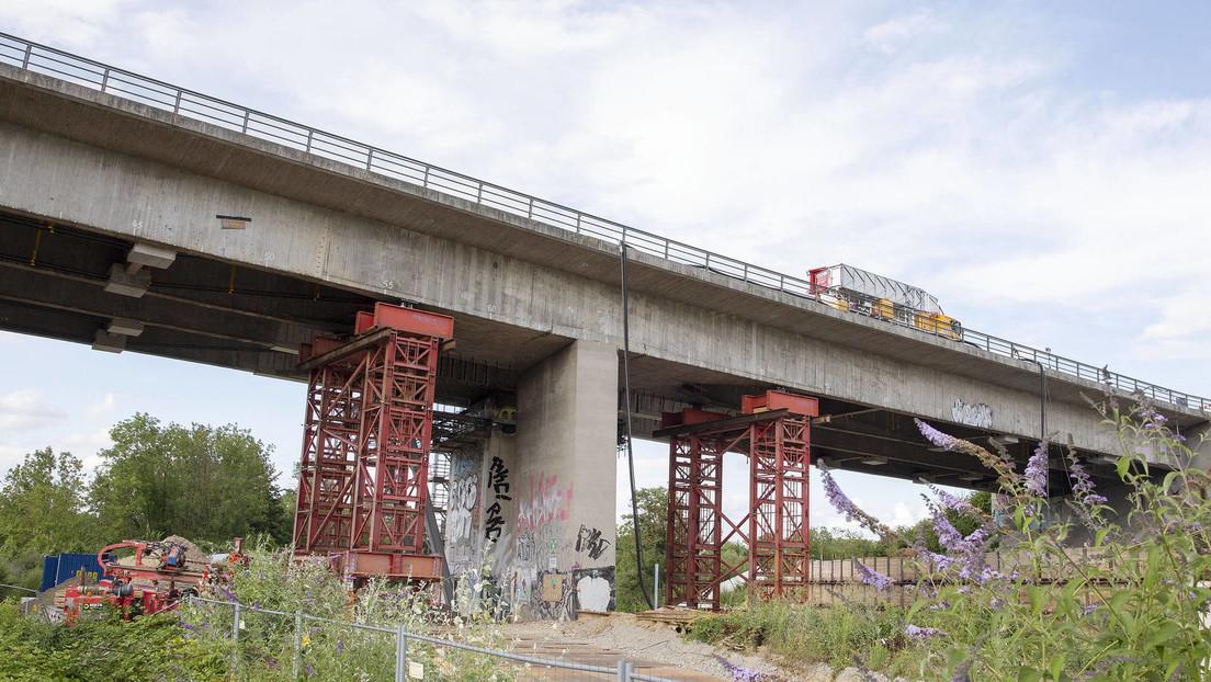 Autobahnen in Deutschland: Jede neunte Brücke baufällig