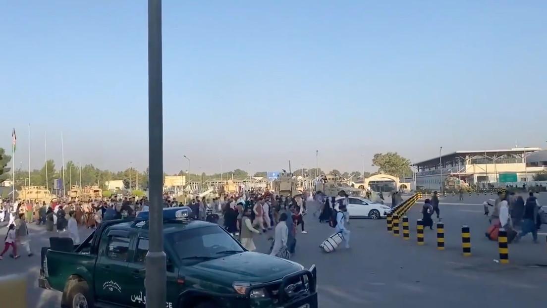 Chaos am Flughafen Kabul und Übernahme der Kontrolle durch US-Militär