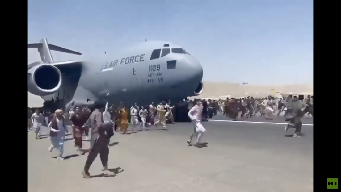 Massenflucht – Schockierende Szenen vom Kabuler Flughafen