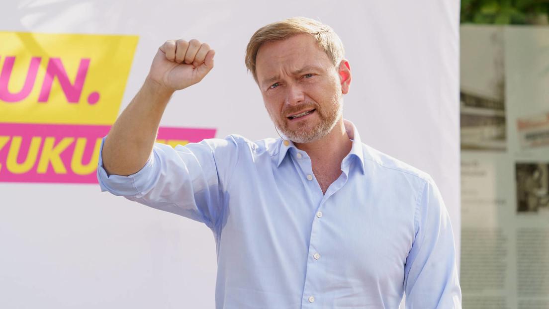 """Lindner: """"Wir wollen so stark werden, dass Schwarz-Grün oder Rot-Grün-Rot keine Mehrheit haben"""""""