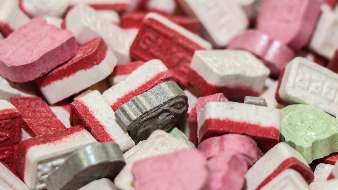 Ecstasy-Tabletten im Wert von circa fünf Millionen Euro sichergestellt