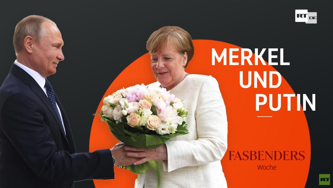 Fasbenders Woche: Merkel und Putin