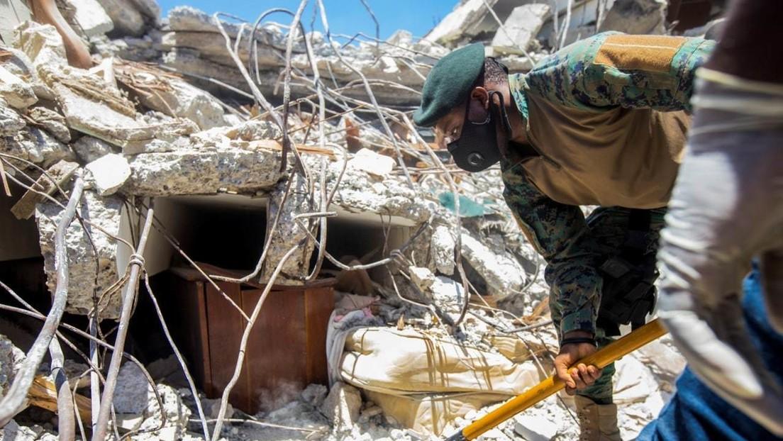 Nach verheerendem Erdbeben in Haiti: Suche nach Überlebenden geht weiter
