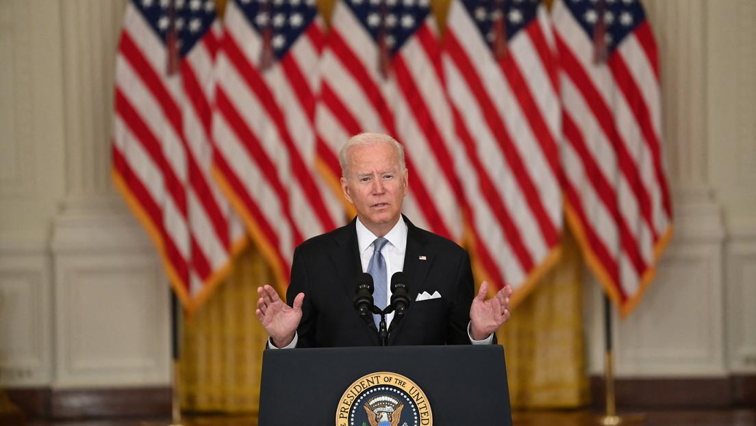 Biden verteidigt Abzug aus Afghanistan und gibt Afghanen Schuld für Niederlage