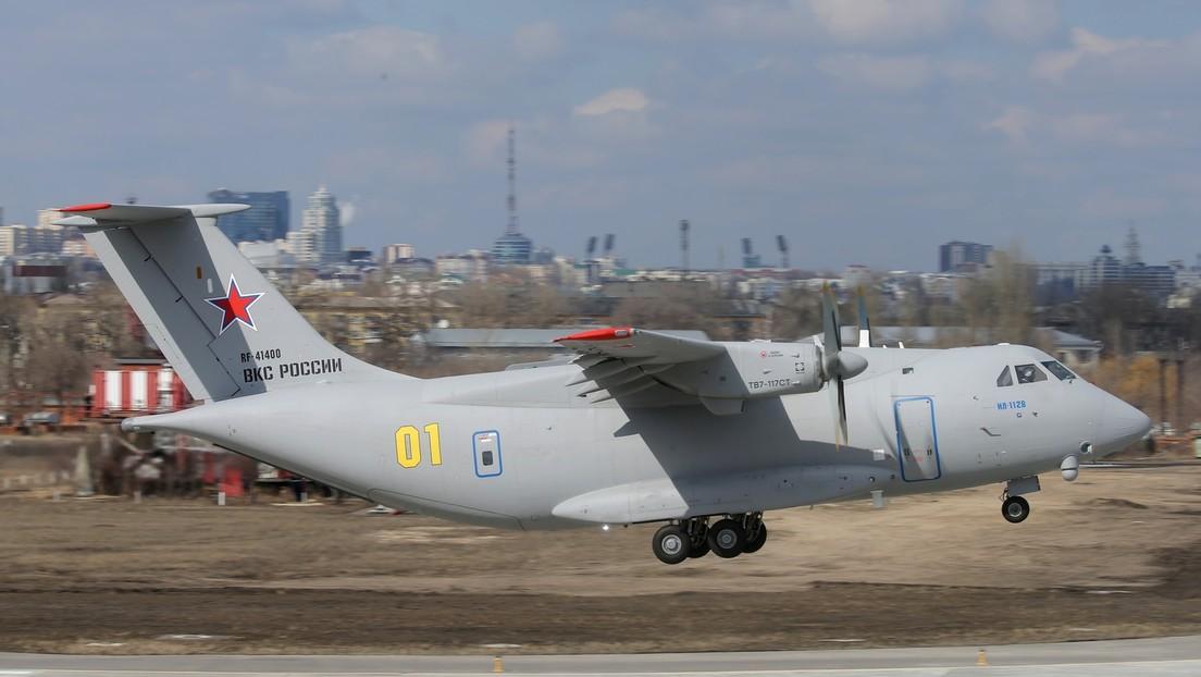 Russland: Prototyp des neuen militärischen Transportflugzeugs  abgestürzt