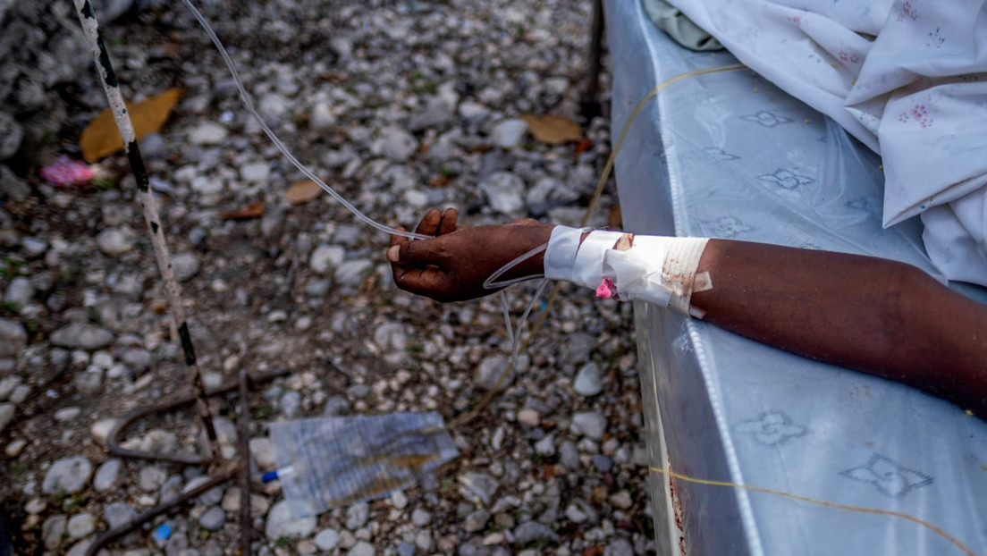 Haitianer am Rande der Verzweiflung: Erdbebenregion auch noch durch Tropensturm überflutet