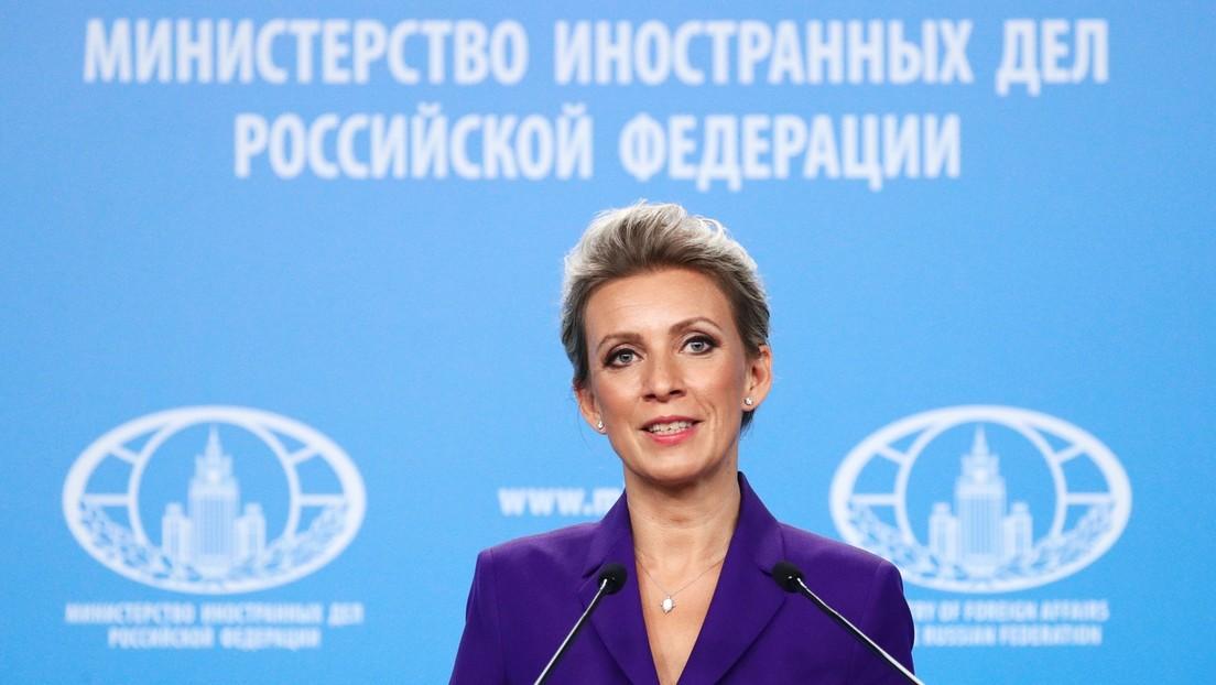 """""""Barbarisch, aber vorhersehbar"""": Sacharowa zur Ablehnung der Lizenzvergabe an RT durch Luxemburg"""