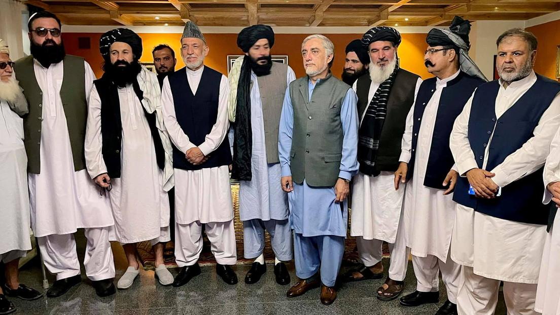 Kabul: Gespräche zwischen Taliban-Führern und Spitzenpolitikern der Ex-Staatsmacht