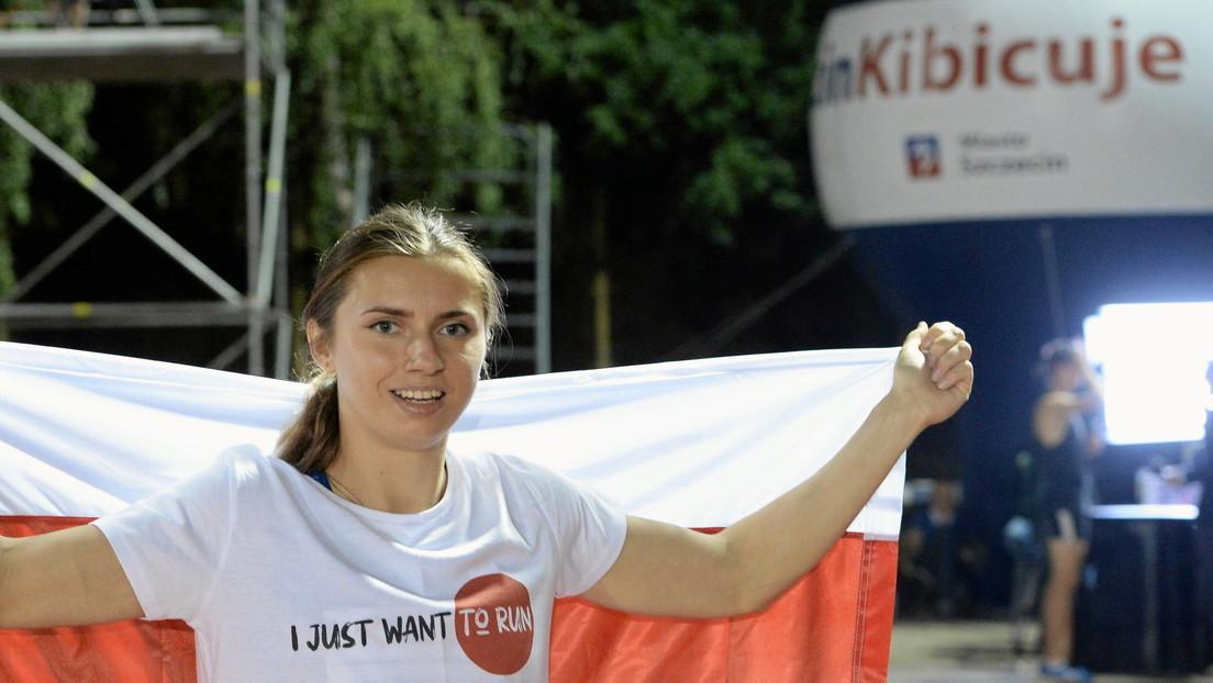 Timanowskaja will für Polen an den Start gehen