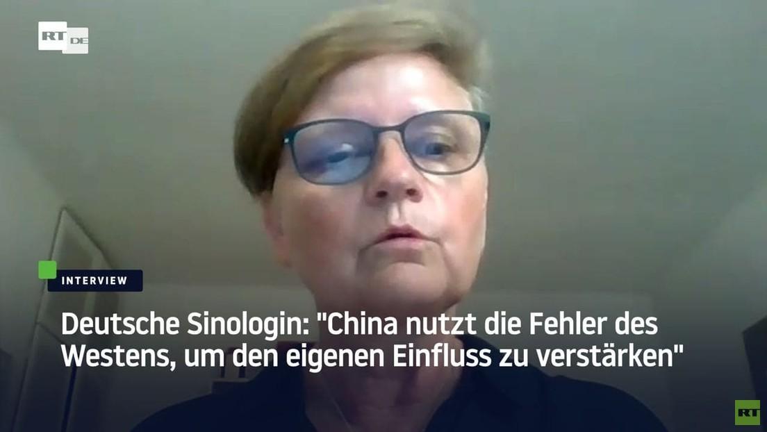 """China-Expertin """"China nutzt die Fehler des Westens, um den eigenen Einfluss zu verstärken"""""""