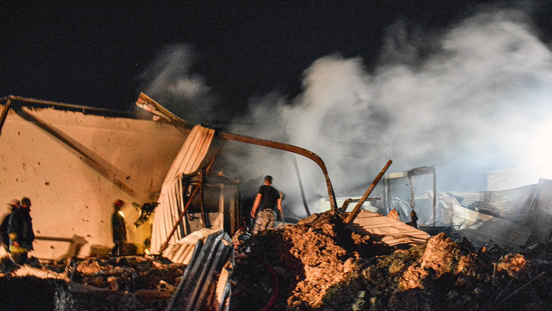 """Israelischer Angriff aus Libanons Luftraum – Syriens Militär: """"Die meisten Raketen abgeschossen"""""""