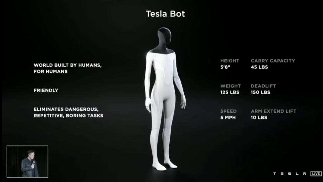 """Tesla kündigt Bau humanoider Roboter an – Sollen Menschen bei """"gefährlichen"""" Aufgaben helfen"""