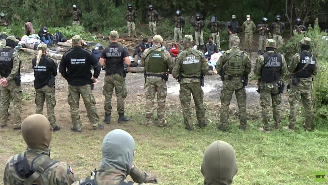 Bringt Polen illegale Migranten an die weißrussische Grenze?