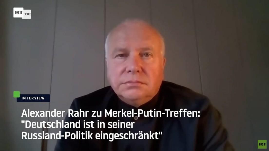 """Alexander Rahr zu Merkel in Moskau: """"Deutschland ist in seiner Russland-Politik nicht mehr autonom"""""""