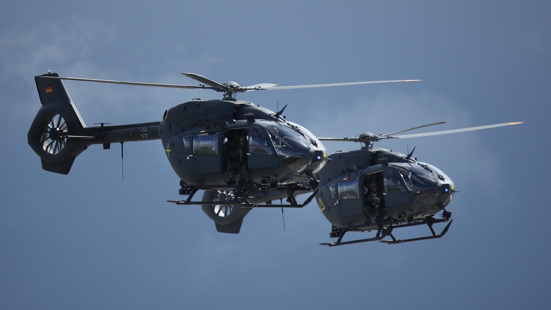 Kein Taxi-Service: Zu Evakuierende müssen Bundeswehr-Hubschrauber auf eigene Faust erreichen