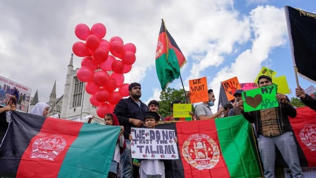 """LIVE aus London: Protest zur """"Unterstützung von Afghanistan"""""""