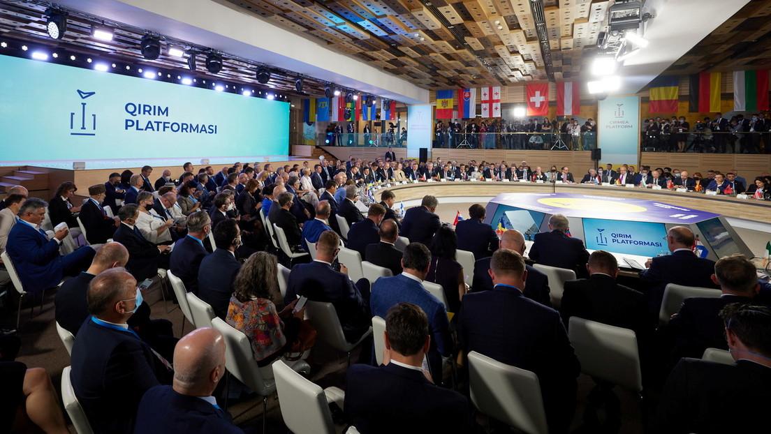 """Kiew: """"Krim-Plattform"""" als Startschuss für die """"Deokkupation"""" der Krim eröffnet"""