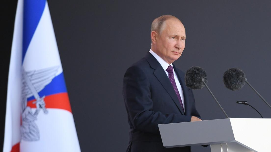 """Putins Eröffnungsrede bei """"Armee-2021"""": Viele russische Waffen weltweit einzigartig"""