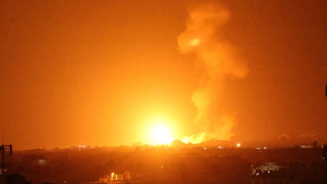 Konflikt eskaliert erneut: Israel fliegt Luftangriffe auf den Gazastreifen