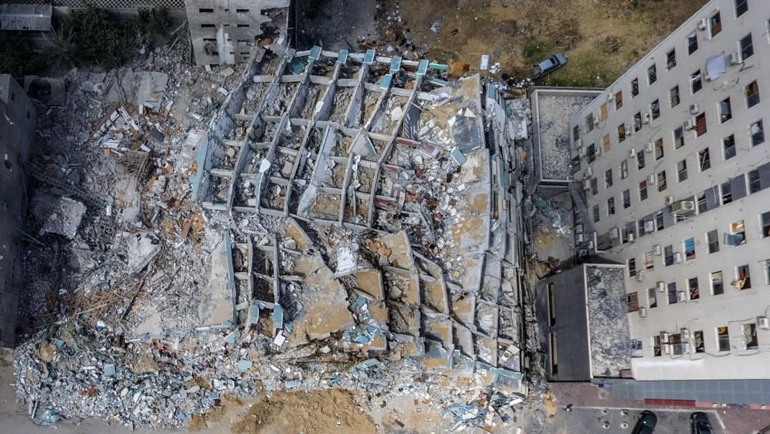 Human Rights Watch: Hochhaus-Zerstörung durch Israel verstieß gegen Kriegsvölkerrecht