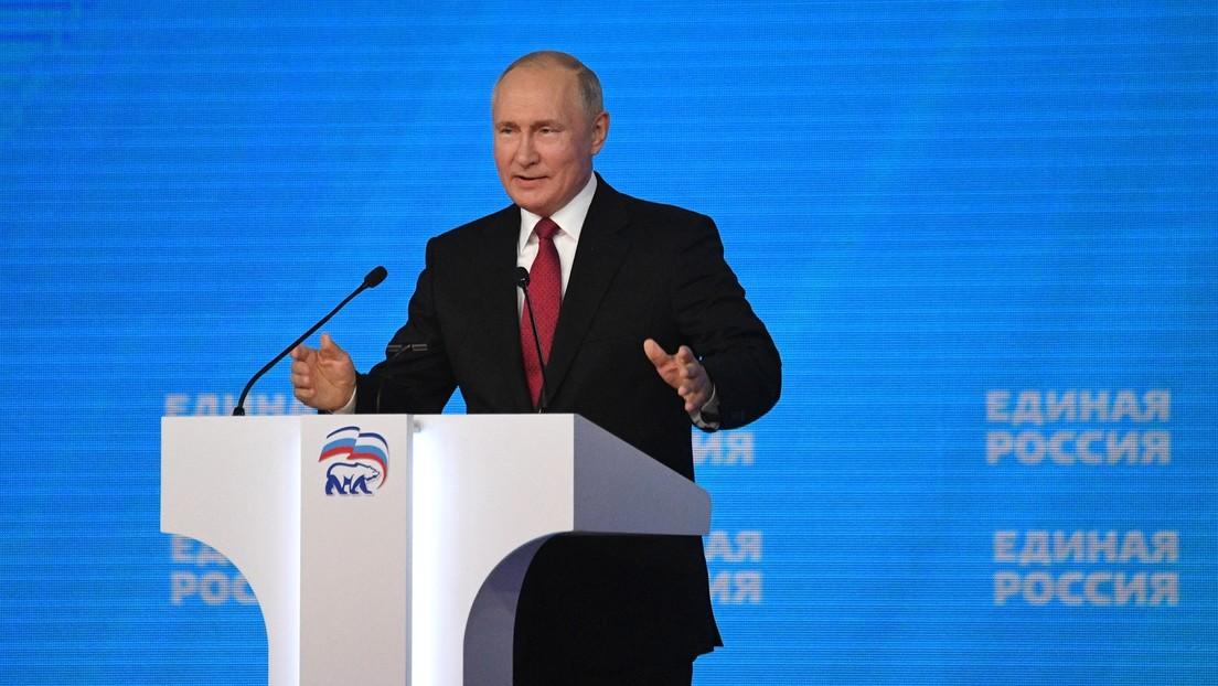 """Putin zur Impfpflicht: """"Es ist inakzeptabel, Menschen unter Druck zu setzen"""""""