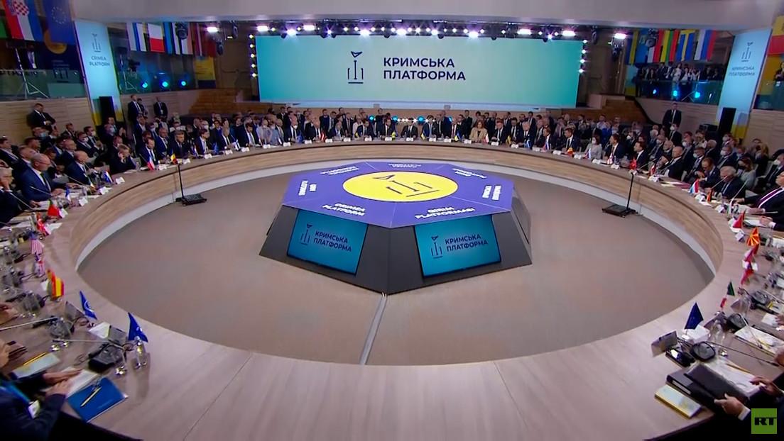 """Konferenz der """"Krim-Plattform"""" in Kiew"""