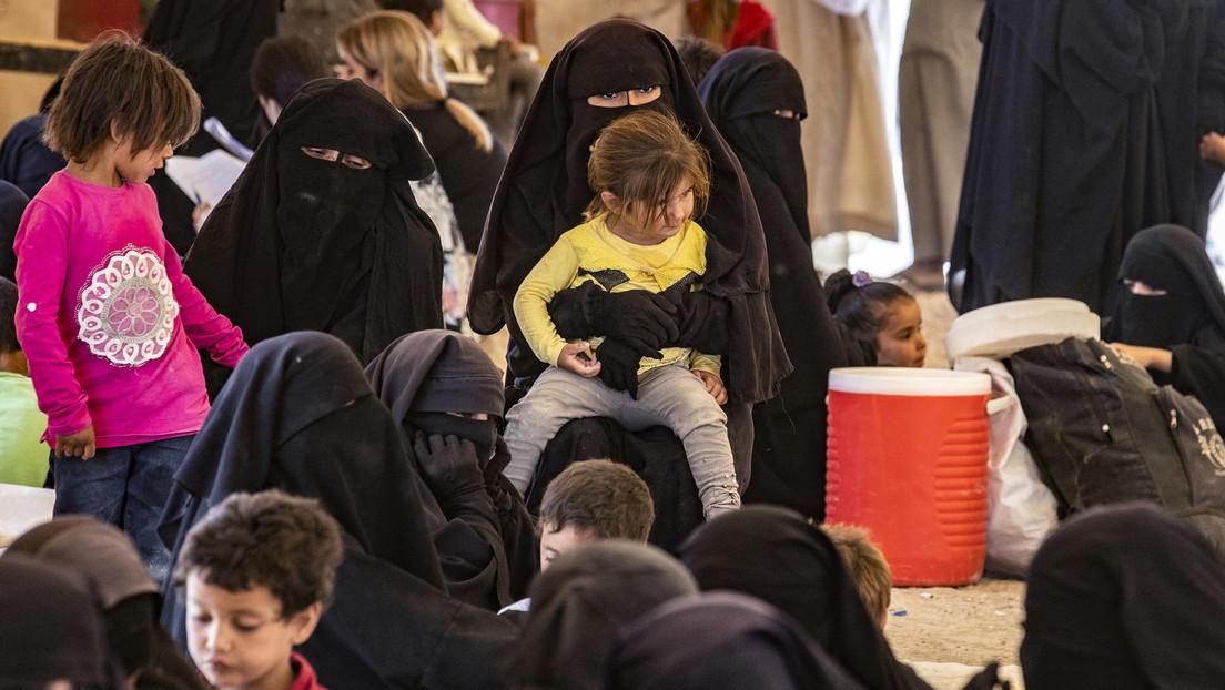 Moskau holt über 100 russische Kinder aus Flüchtlingslager in Nordostsyrien zurück
