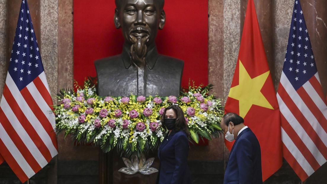US-Vizepräsidentin Harris: Vietnam soll Druck auf Peking erhöhen – und bekommt dafür einen Kutter
