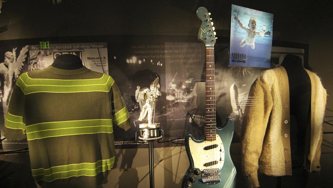 Legendäre Plattenhülle: Nirvana-Cover-Baby verklagt Band wegen angeblicher Kinderpornografie