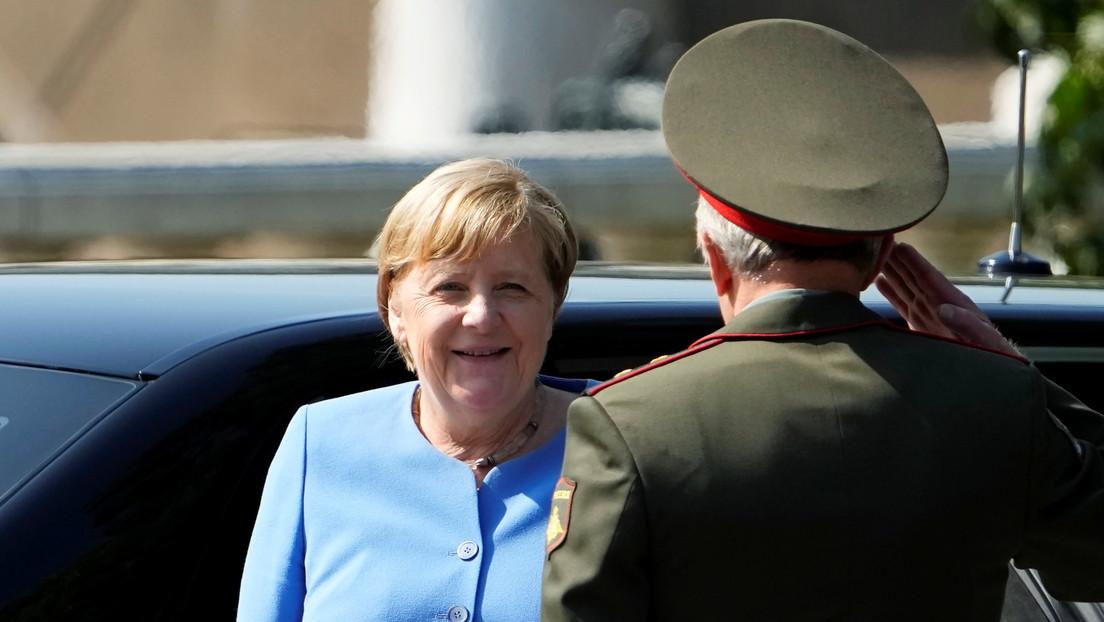 Bald im russischen Sold? Moskauer Abgeordneter spekuliert über Merkels Zukunft