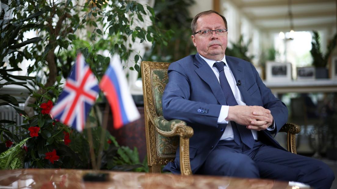 Nach Defender-Vorfall nahe Krim: Russischer Botschafter warnt Großbritannien vor neuen Provokationen
