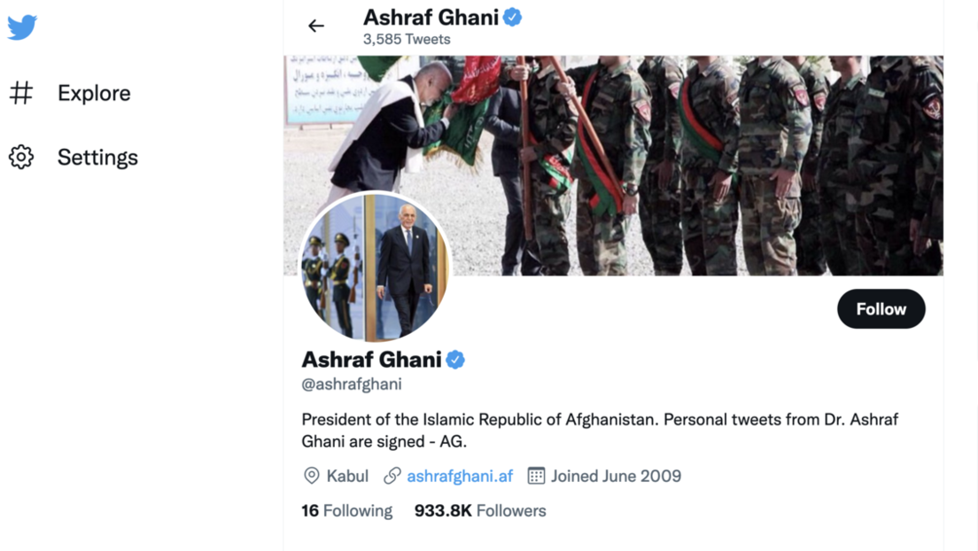 Terrororganisation oder Regierung Afghanistans? Twitter und Facebook hadern mit Taliban-Konten