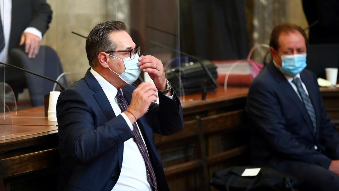 Ex-FPÖ-Chef Strache zu Freiheitsstrafe von 15 Monaten auf Bewährung verurteilt