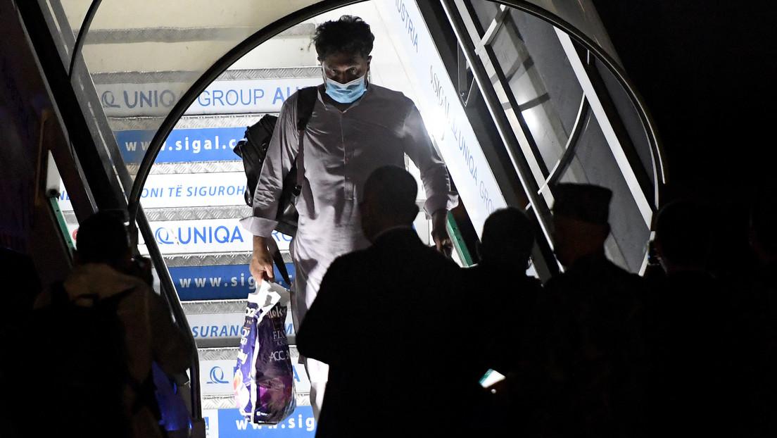 Albanien: Mehr als 100 evakuierte afghanische Bürger in Tirana eingetroffen