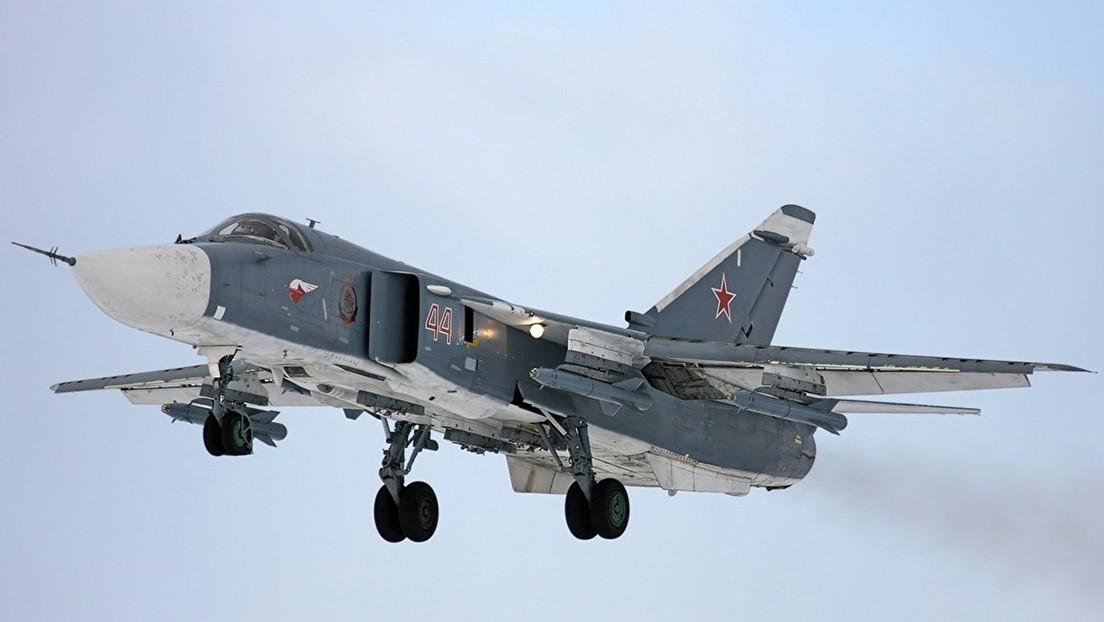 Russland: Su-24-Kampfflugzeug bei Trainingsflug abgestürzt