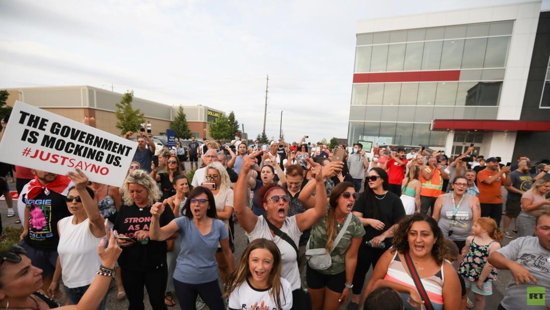 Wütender Protest: Wahlkundgebung von Trudeau aus Sicherheitsgründen abgesagt