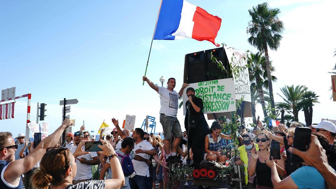 Siebtes Wochenende in Folge: Massenproteste in Frankreich gegen Corona-Politik