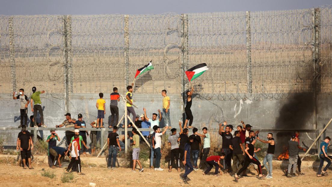 Nach Protesten gegen Blockade: Israel beschießt Gazastreifen mit Luft-Boden-Raketen