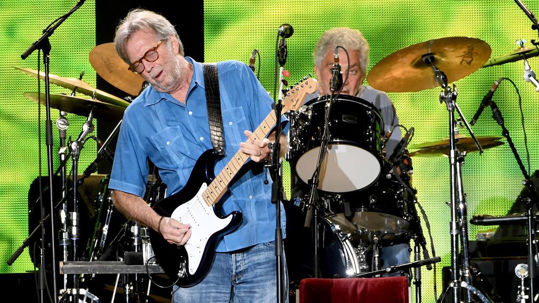 """""""Das muss aufhören"""" – Eric Claptons neuer Song löst Diskussion über Corona-Maßnahmen aus"""