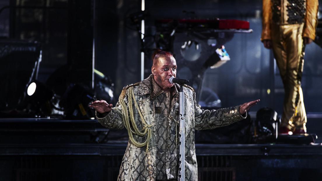 Auf Druck der Polizei - Rammstein-Sänger Lindemann sagt Konzert im russischen Twer ab