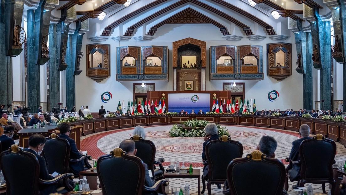 Bagdad-Gipfel: Macron will Militärpräsenz in der Region aufrechterhalten