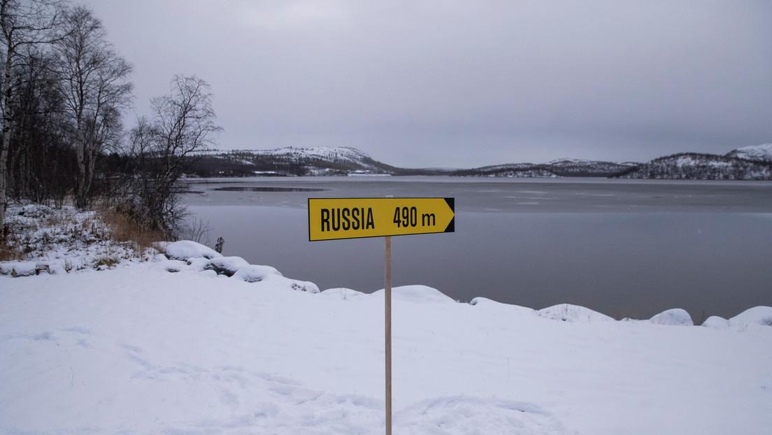"""""""Nicht in Richtung Russland pinkeln"""" – Bizarres Schild warnt auf norwegischer Seite"""