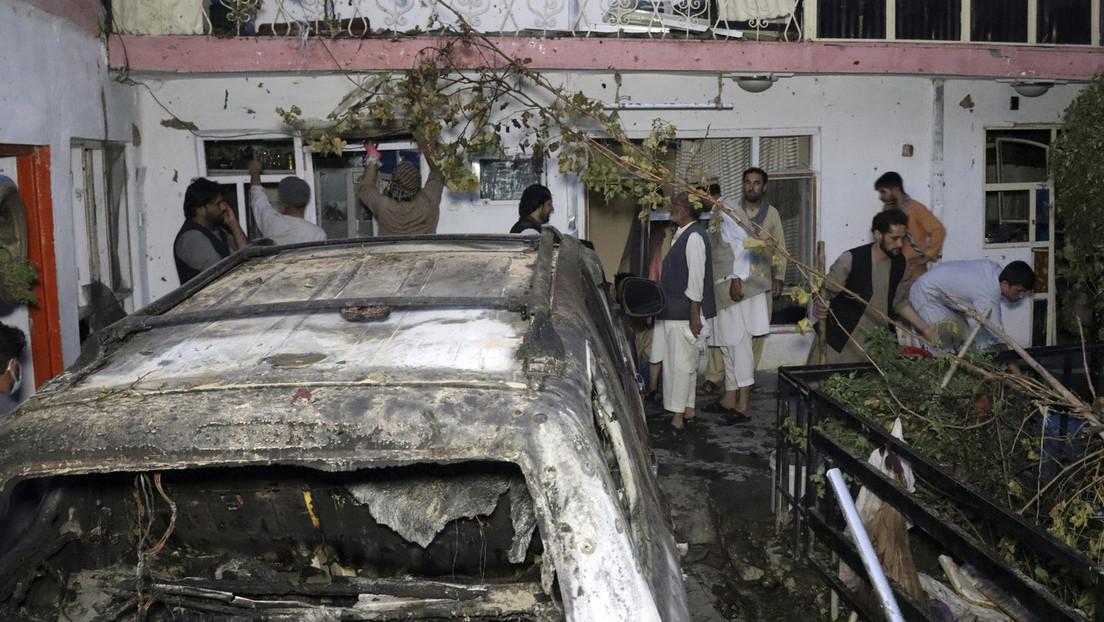 US-Drohnenangriff am Sonntag in Kabul: Berichte über zivile Opfer, darunter auch Kinder