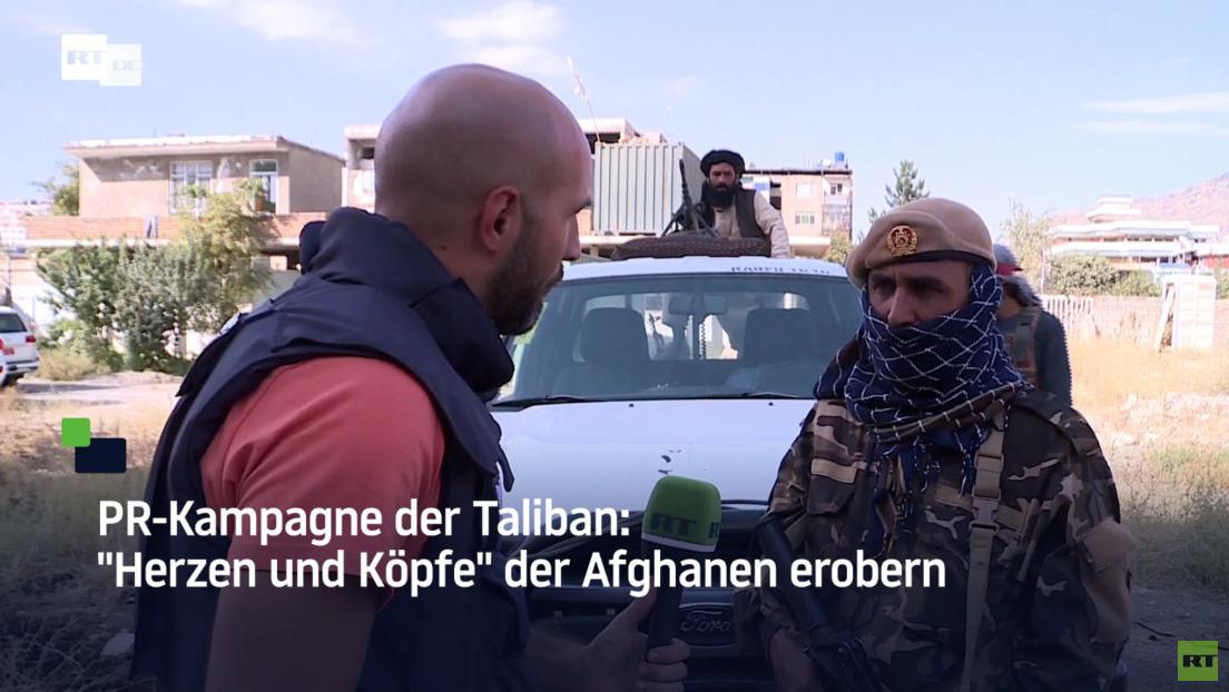"""Videoreportage: PR-Kampagne der Taliban – """"Herzen und Köpfe"""" der Afghanen erobern"""