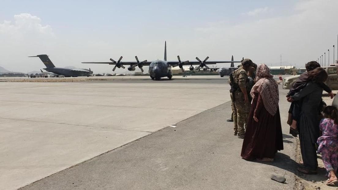 LIVE aus dem Inneren des Kabuler Flughafens nach dem vollständigen US-Truppenabzug
